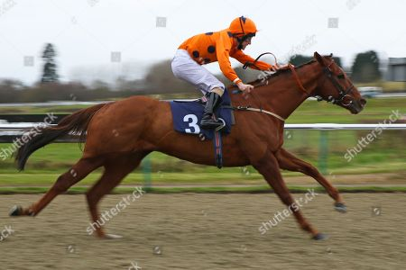 VARSOVIAN ridden by Jack Duern 1st The Play Jackpot Games at sunbets.co.uk/vegas Handicap Stakes at Lingfield