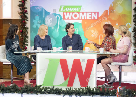 Christine Lampard, Linda Robson, Micky Flanagan, Janet Street-Porter and Stacey Solomon