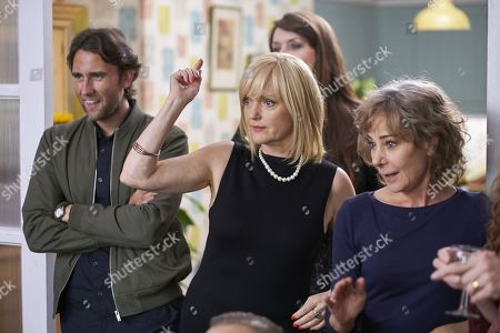 (Ep 1) - Matthew Lewis as Tom Drayton, Miranda Richardson as Sue Thackery and Zoe Wanamaker as Gail Stanley