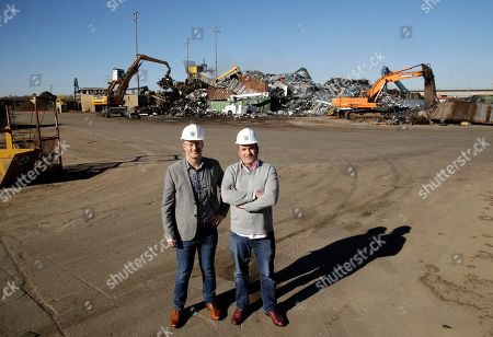 Jerrit Burgess, Craig Ward. Midwest Scrap Management President Jerrit Burgess, right, and Chief Financial Officer Craig Ward stand at the scrap metal business they run in Kansas City, Mo. The company switched to a self-funded health insurance plan in March and has saved $20,000 off its projected insurance costs since