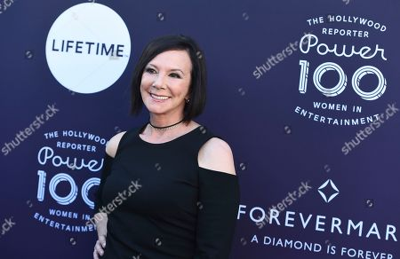 Marcia Clark arrives at The Hollywood Reporter's Women in Entertainment Breakfast at Milk Studios, in Los Angeles