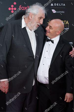 Director Phillip Noyce and John De Margheriti