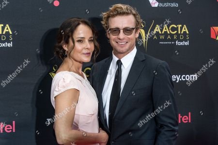 The Mentalist star Simon Baker and his wife Rebecca Rigg