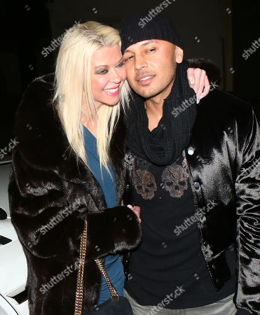 Editorial image of Tara Reid and Ted Dhanik out and about, Los Angeles, USA - 05 Dec 2017