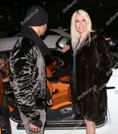 Editorial photo of Tara Reid and Ted Dhanik out and about, Los Angeles, USA - 05 Dec 2017