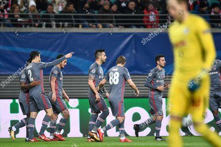 Editorial photo of RB Leipzig vs Besiktas Istanbul, Germany - 06 Dec 2017