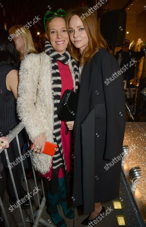 Tiphaine Chapman and Stella McCartney