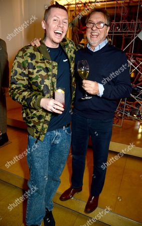 Professor Green and Raymond Blanc