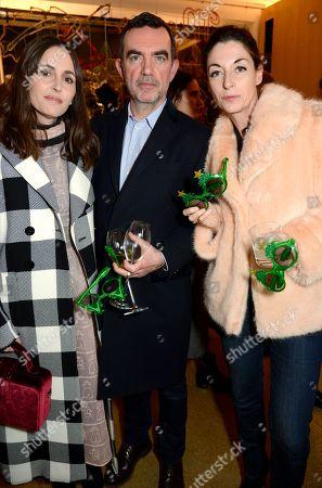 Tania Fares, Mary McCartney and Simon Aboud