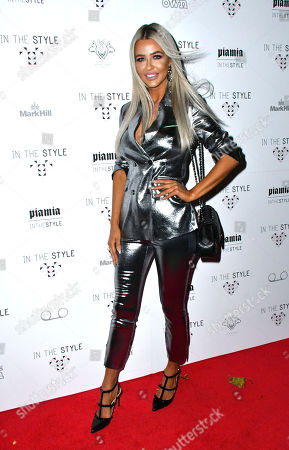 Editorial picture of Pia Mia x In The Style collaboration launch party, London, UK - 06 Dec 2017