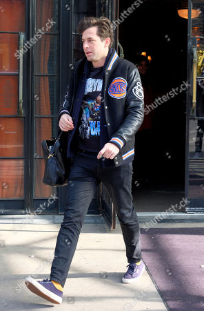 Editorial photo of Mark Ronson out and about, New York, USA - 06 Dec 2017