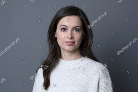 """Producer of """"Search Party,"""" Lilly Burns poses for a portrait on in New York"""