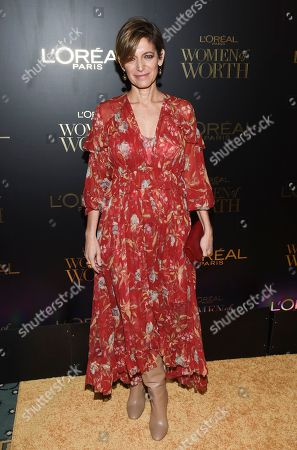 Cynthia Leive attends the L'Oreal Women of Worth Awards at the Pierre Hotel, in New York