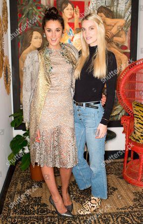 Rosanna Falconer and Georgie MacIntyre