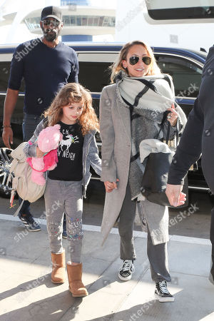 Nicole Richie and her daughter Harlow Madden