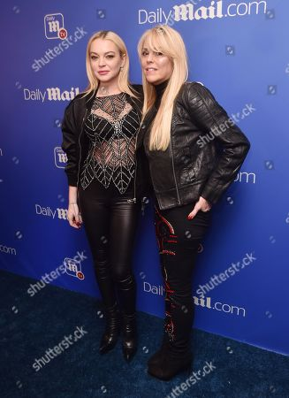 Editorial picture of Daily Mail Holiday Party, New York, USA - 06 Dec 2017