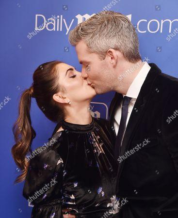 Emilia Bechrakis and Ryan Serhant