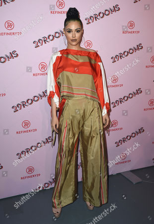 Anabelle Acosta arrives at the West Coast debut of 29rooms at ROW DTLA, in Los Angeles