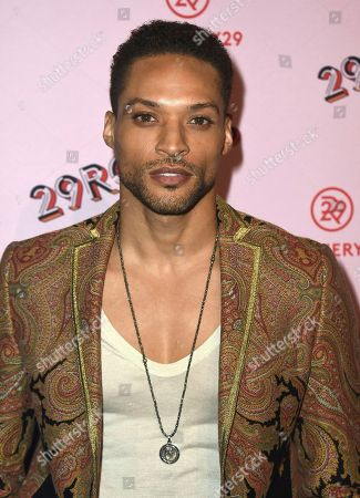 Cleo Anthony arrives at the West Coast debut of 29rooms at ROW DTLA, in Los Angeles