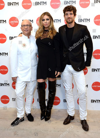 Nicky Johnston,  Abbey Clancy,  Max Rogers