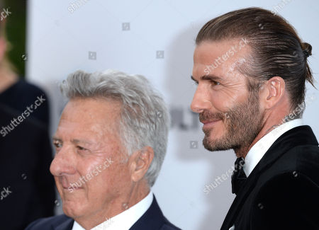 David Beckham,  Dustin Hoffman