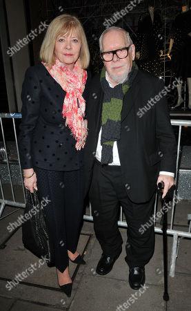 Chrissie Blake and Sir Peter Blake