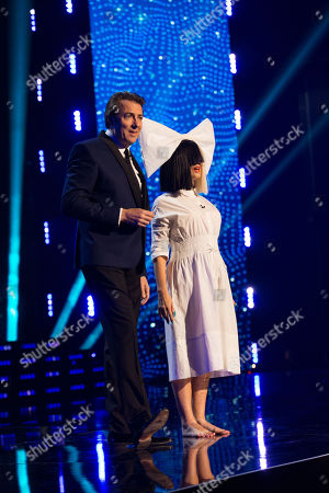 Jonathan Ross and a star disguised as Sia Furler