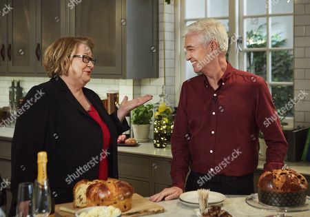 (Ep 3 - Food and Drink) - Rosemary Shrager and Phillip Schofield