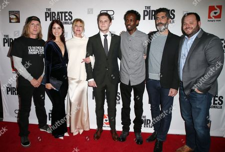 Editorial picture of 'The Pirates Of Somalia' film premiere, Los Angeles, USA - 06 Dec 2017