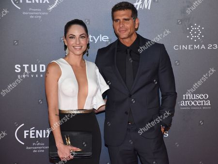 Barbara Mori and Christian Meier