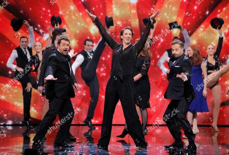 "Ball & Boe - Michael Ball and Alfie Boe performing ""Bring Me Sunshine"" with Miranda Hart"