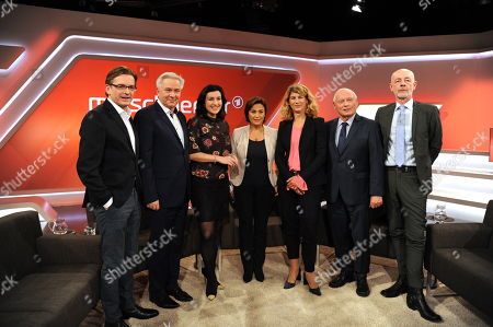 Claus Strunz, Klaus Wowereit, Dorothee Bär, Sandra Maischberger, Stephanie Bschorr, Oskar Lafontaine, Friedrich Küppersbusch