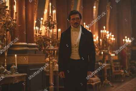 Stock Photo of David Oakes as Prince Ernest.