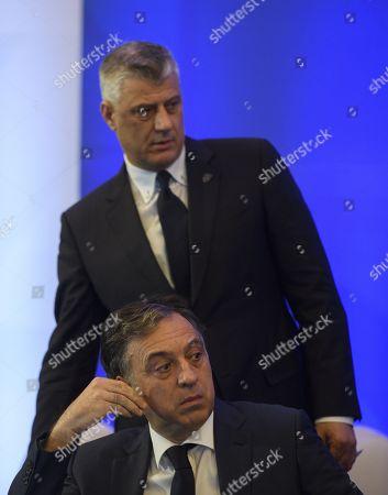 Filip Vujanovic and Hashim Thaci