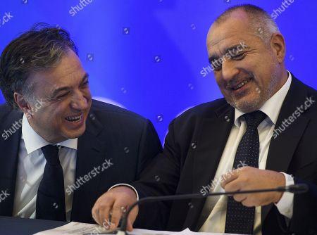Filip Vujanovic and Boiko Borissov