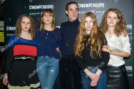Stock Photo of Clara Laperrousaz, Ana Girardot, Clement Roussier, Agathe Bonitzer and Laura Laperrousaz