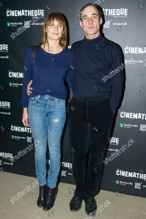 Stock Picture of Ana Girardot and Clement Roussier
