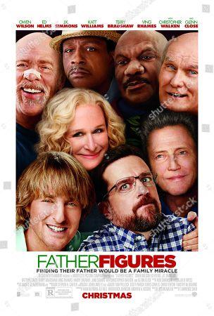 Father Figures (2017) Poster Art. JK Simmons, Katt Williams, Ving Rhames, Terry Bradshaw, Glenn Close, Owen Wilson, Ed Helms, Christopher Walken