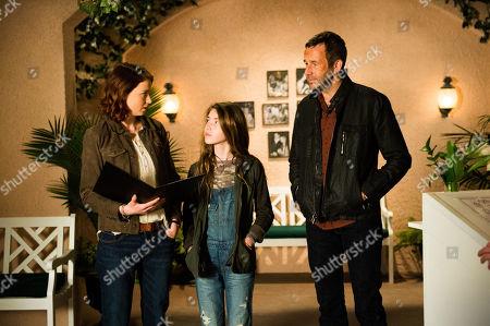 Lucy Walters, Carolyn Dodd, Chris O'Dowd