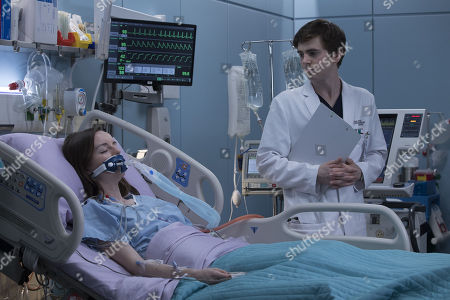 Stock Picture of Kacey Rohl, Freddie Highmore