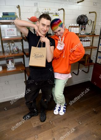 Olly Alexander and Kate Moross