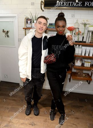 Olly Alexander and Leomie Anderson