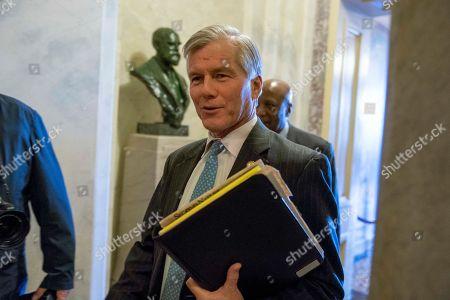 Stock Photo of Former Virginia Gov. Bob McDonnell walks through the halls of the Capitol Building in Washington, Thursday morning