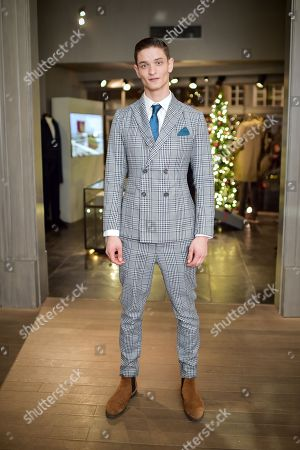 Editorial picture of Gentleman's Journal 5th Anniversary Party, Gieves & Hawkes, London, UK - 07 Dec 2017
