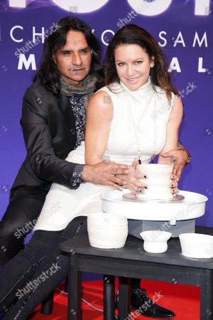 Christine Neubauer mit partner Jose Campos