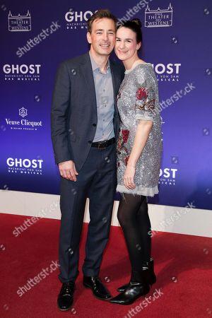 Stock Image of Jan Sosniok mit Partner Nadine Moellers