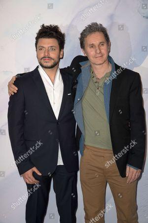 Kev Adams and Serge Hazanavicius