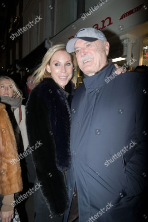 Stock Picture of John Cleese and Jennifer Wade