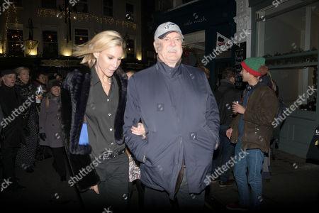 Stock Image of John Cleese and Jennifer Wade