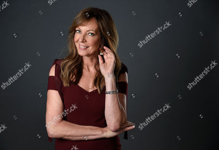 """Actress Allison Janney, a cast member in the film """"I, Tonya,"""" poses for a portrait at The Hollywood Roosevelt Hotel in Los Angeles. The film tells the story of the disgraced figure skater Tonya Harding from youth to middle age, including the infamous assault on fellow skater Nancy Kerrigan"""